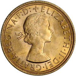 Kyпить Great Britain Gold Sovereign (.2354 oz) - Elizabeth II Laureate BU - Random Date на еВаy.соm
