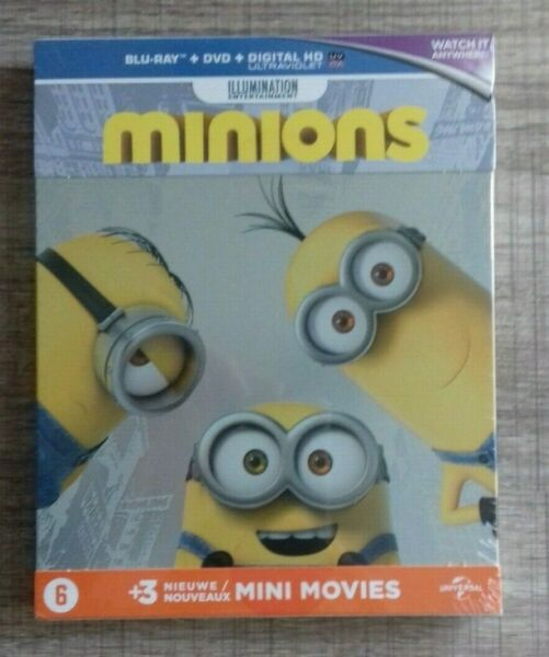 Blu ray Les Minions STEELBOOK COLLECTOR NEUF