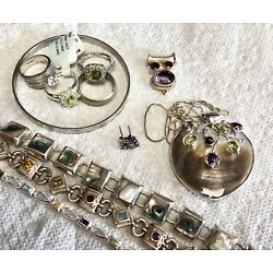 Kyпить Lot of Silver Jewelry- 11 pieces (132+ grams)    827 на еВаy.соm