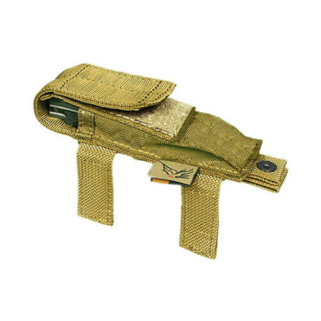 img-FLYYE US COMBAT KNIFE POUCH TACTICAL MOLLE POCKET ARMY SURVIVAL CORDURA KHAKI