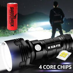 Kyпить Shadowhawk Super-bright 90000lm Flashlight CREE LED P70 Tactical Torch +battery на еВаy.соm