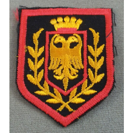 img-Inconnu Militaire Cut Edge Patch - Neuf Old Stock