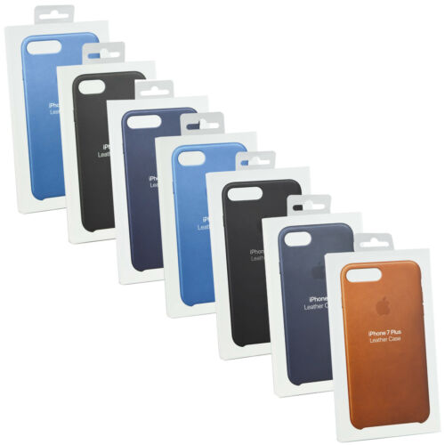 New Original Genuine Apple Leather Case Cover For iPhone 7 8 7/8/6/6S Plus