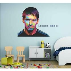 Lionel Messi Wall Sticker Decal For Kids Nursery Baby Room Décor