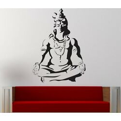 Lord Shiva Wall Sticker Decal Removable Pvc Wall Sticker Home Decor