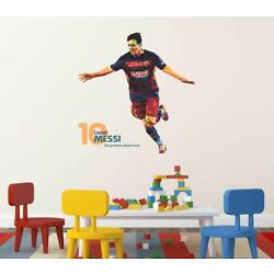Lionel Messi Removable Wall Sticker Livingroom Home Vinyl Decal Decor