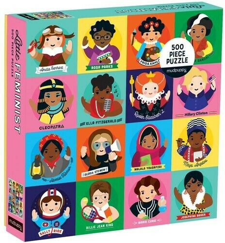 ISBN 9780735353824 product image for Mudpuppy Little 500 Piece Family Puzzle, Feminists | upcitemdb.com
