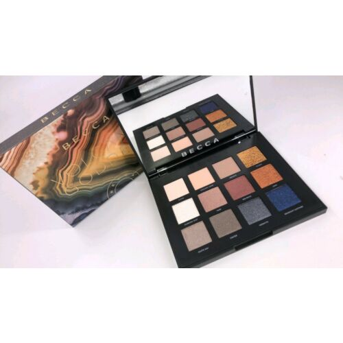 lot-of-2-becca-volcano-goddess-12-eyeshadow-palette-bnib-100-authenticbnib