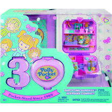 RARE VINTAGE 1990 POLLY POCKET DINKIE AND HER DOLPHIN RING MATTEL NEW MIB !