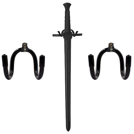 img-2x Universal Sword Stand Display Hanger Wall Rack for Sword,Dagger,Axe,Keyblade