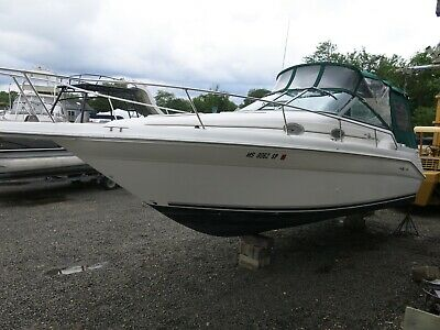 1997 Sea Ray 270 Sundancer Express Cruiser boat Clean Title Low Reserve 97
