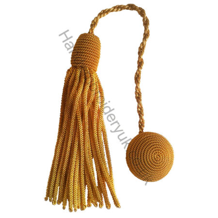 img-Cap Cords Tassels or Hat Cords Tassels For Cap using Gold Wire