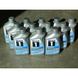 (12) QUART MOBIL 1 ADVANCED FULL SYNTHETIC HIGH MILEAGE 10W-40 ENGINE OIL 75000+