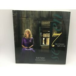 Seven by Lois Carter Book & CD 7 Days of Memory/Nights of Song Free Ship New