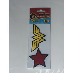 Embroidered Stickers - Wonder Woman - Stationery New ST3037 Trends International