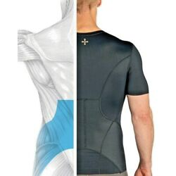 Men's Lower Back Brace Pain Support Shirt Pro Fit Lumbar Spine by TOMMIE COPPER
