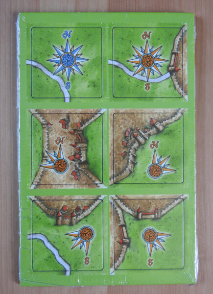 Carcassonne Mini Expansion - Windroses II, Brand New with English Rules