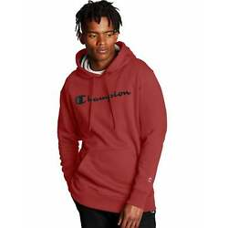 Kyпить Champion Hoodie Men's Sweatshirt Script Logo Powerblend Pullover Kanga Pocket на еВаy.соm