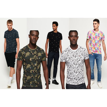 img-Superdry All Over Print Lite New House Rules T-Shirt