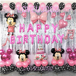 Kyпить Minnie Mouse Birthday Party Decorations Minnie Mouse Party Supplies Balloons  на еВаy.соm