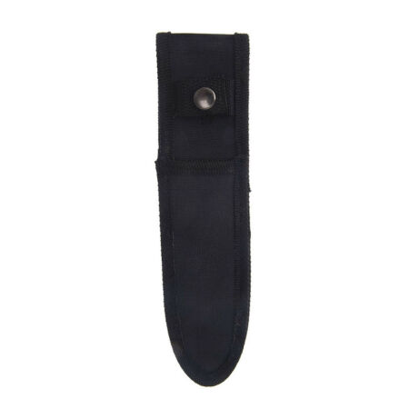 img-21cm x 5cm mini small black nylon sheath for folding pocket knife pouch case TD