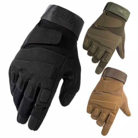 img-Tactical Gloves Military Army Combat Police Covert Security Forces MTP Mittens