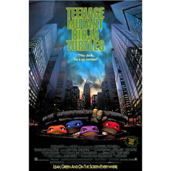 Kyпить TEENAGE MUTANT NINJA TURTLES - CLASSIC MOVIE POSTER 24x36 - 53283 на еВаy.соm