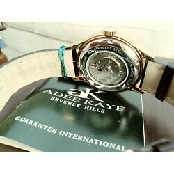 Adee Kaye Multi Function Automatic Watch with Power Reserve