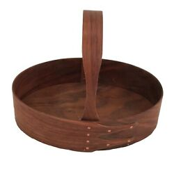 Shaker #3 Fixed Handle Carrier in Walnut, Hand Finish