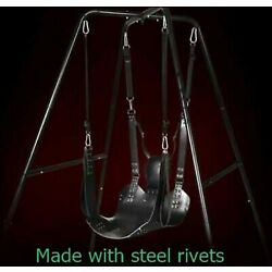Kyпить Genuine Buffalo Leather heavy duty Sling Swing for Adults SW8 на еВаy.соm