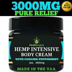 Kyпить HEALTHERGIZE 3000MG PURE HEMP RELIEF WITH COOLING PEPPERMINT на еВаy.соm