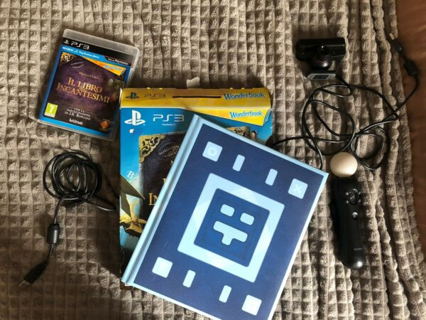 Playstation Move + Wonderbook +Shooter