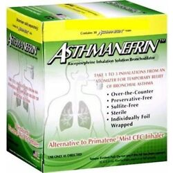 Asthmanefrin Asthma Medication Refill, 30 Count Expiration April 2022
