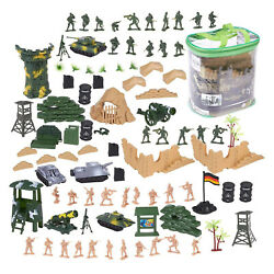 Kyпить 100 Piece Military Figures & Accessories, Toy Army Soldiers Two Flag attlefield на еВаy.соm