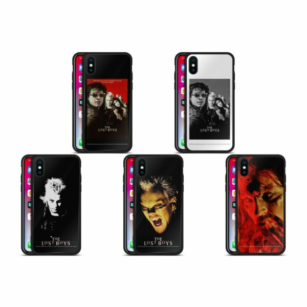 Royaume-UniOFFICIAL THE LOST BOYS  BLACK HYBRID GLASS BACK CASE FOR iPHONE PHONES