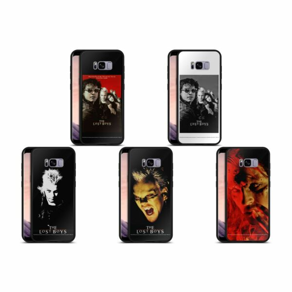 Royaume-UniOFFICIAL THE LOST BOYS  BLACK HYBRID GLASS CASE FOR SAMSUNG PHONES