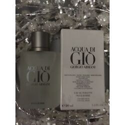 Kyпить Acqua Di Gio  3.4 Oz. Men SPRAY EDT COLOGNE **NEW IN BOX** GIORGIO ARMANI  на еВаy.соm