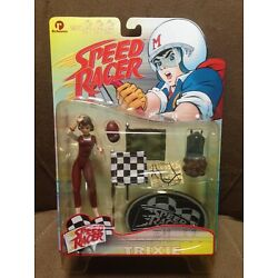 ReSaurus Speed Racer Series One - Trixie Action Figure w/ Racing Flags