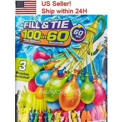 Kyпить 4-pack (444 Water Balloons) Bunch O Instant Already Tied Self-Sealing,easy fill на еВаy.соm
