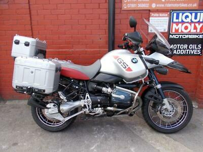 2004 04 BMW R1150 GS ADVENTURE *LOW MILEAGE, FSH, 3MTH WARRANTY, FULLY LOADED*