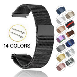 Kyпить Samsung Galaxy Watch Active 2 40mm 44mm Stainless Steel Loop Milanese Band Strap на еВаy.соm