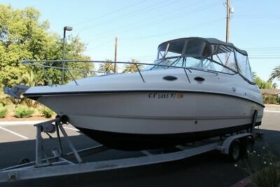1998 Chaparral 240 Signature/Heat exchange cooling system!+Trailer/ water ready!