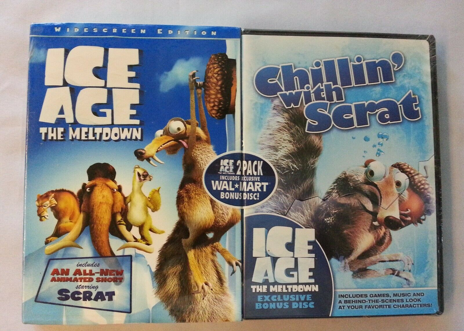 Upc 024543399681 Ice Age The Meltdown And Chillin With Scrat Dvds Upcitemdb Com