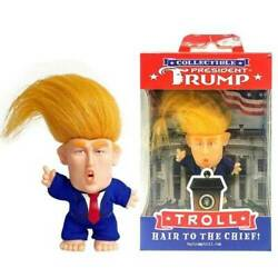 Kyпить PRESIDENT DONALD TRUMP COLLECTIBLE TROLL DOLL MAKE AMERICA GREAT AGAIN FIGURE j на еВаy.соm