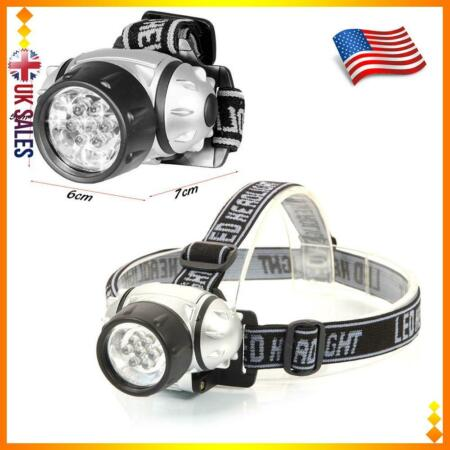 img-LED Headlights Fishing Camping Headlamp Night Riding Outdoor Hunting Hiking