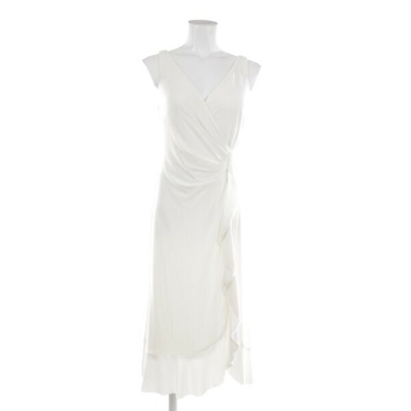 AllemagneLauren Ralph Evening Dress Size 34 US 4 White Ladies Robe New
