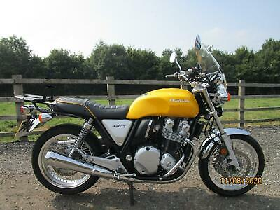 2018 Honda CB1100 EX ABS.Yellow,Only 3800 Miles.Totally Mint Example.One Owner