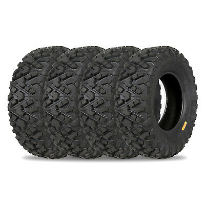 Weize All Terrain ATV UTV Tires 25x10-12 25x8-12 Front & Rear Full Set of 4