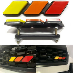 1PC For Toyota Tacoma 4Runner Tundra Tri-color 3 Front Grille Cover Badge EMBLEM