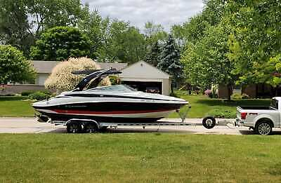 2014 CROWNLINE 255SS 350 MAG 190 HOURS 15K STEREO SYSTEM LOADED